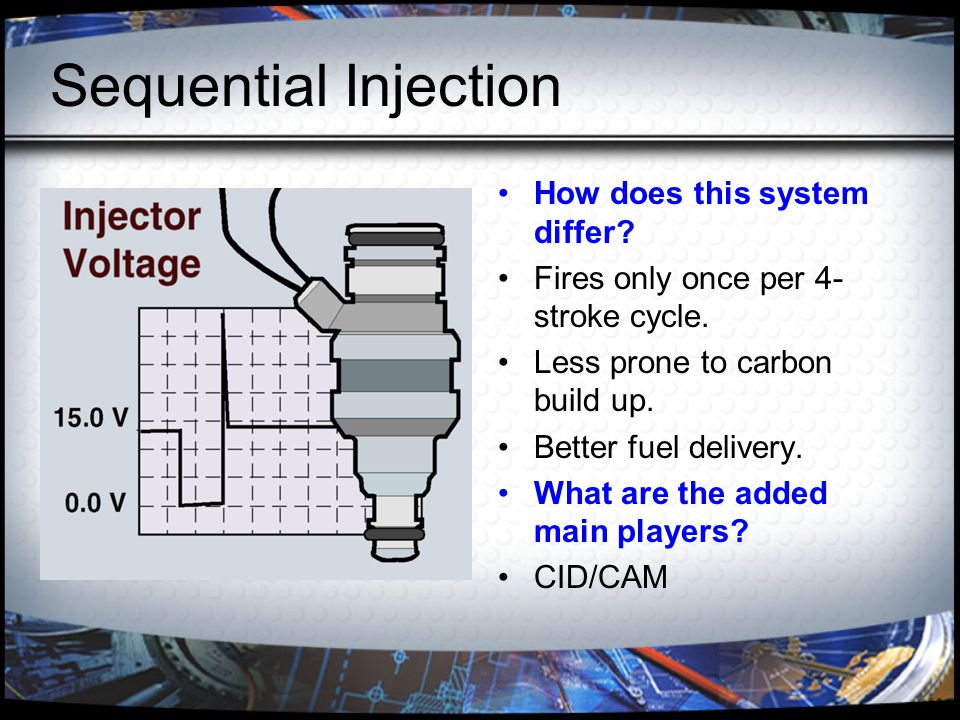 Sequential Injection How does this system differ