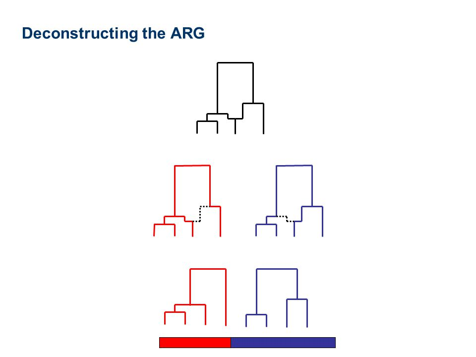 Deconstructing the ARG