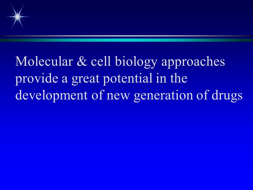 Molecular & cell biology approaches