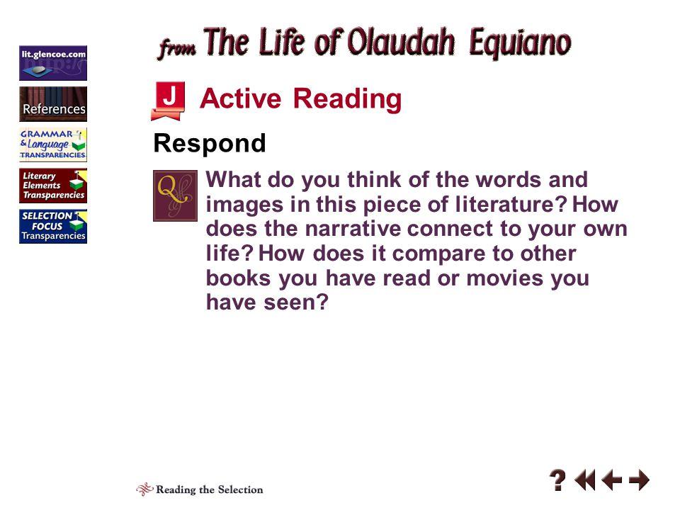 Active Reading J Respond