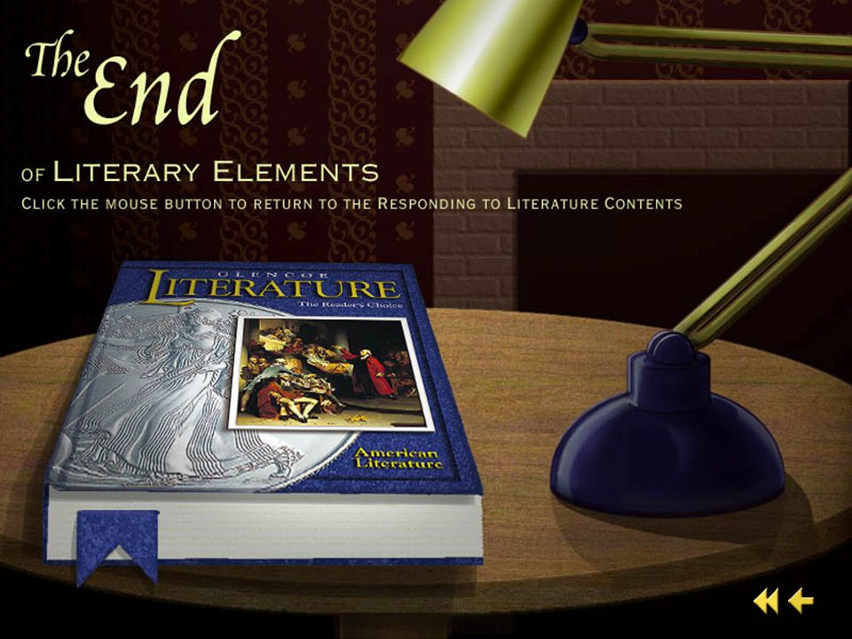 End of Literary Elements 5