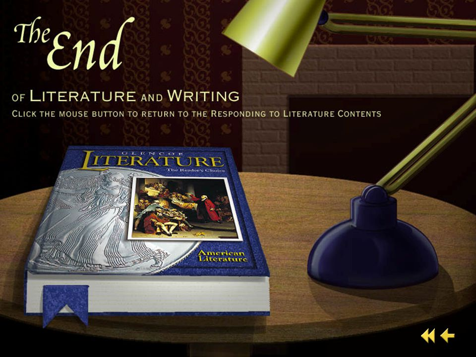 End of Literature and Writing 5