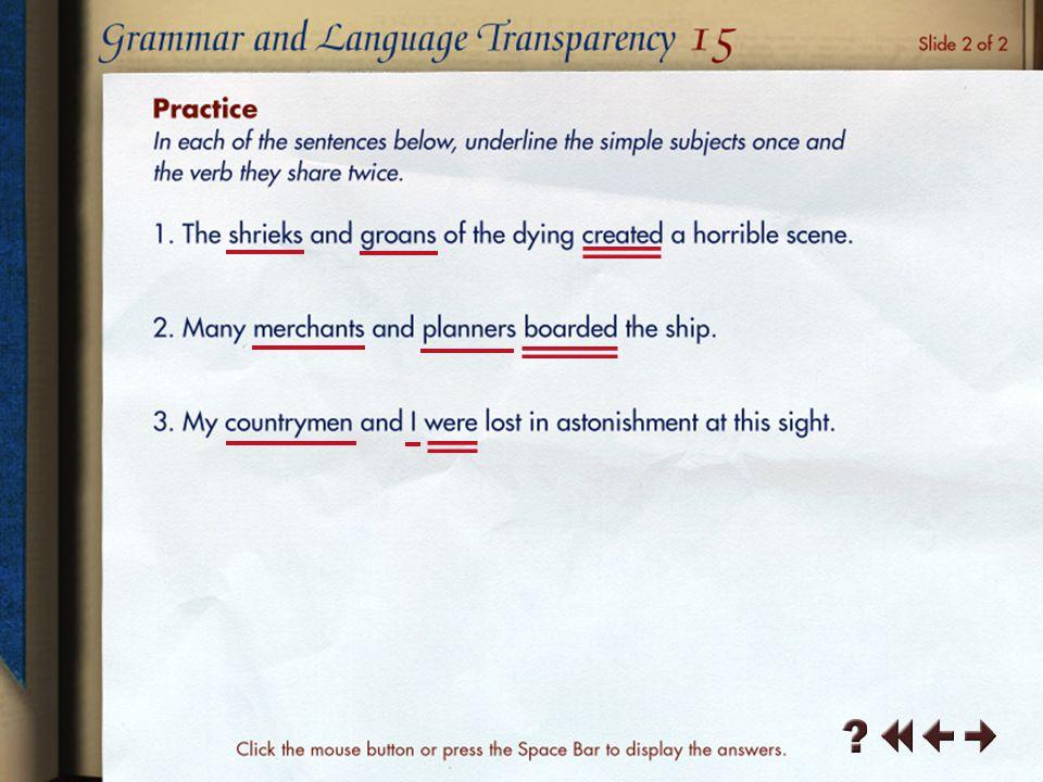 Grammar and Language Transparency 5-2