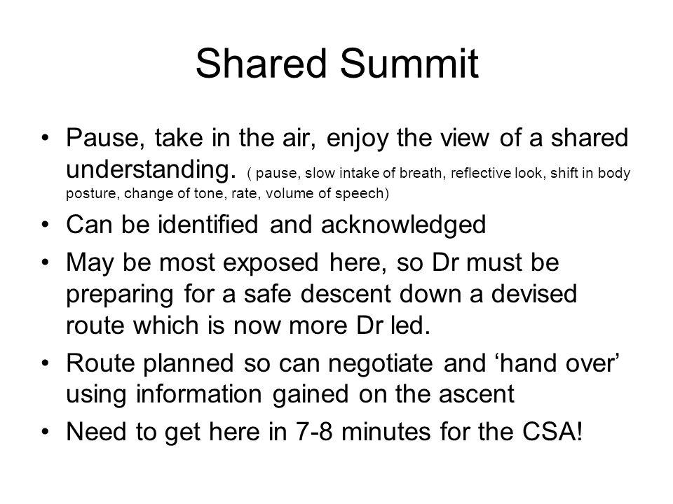Shared Summit