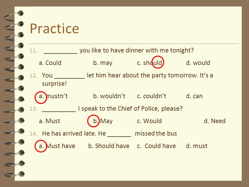 Practice __________ you like to have dinner with me tonight