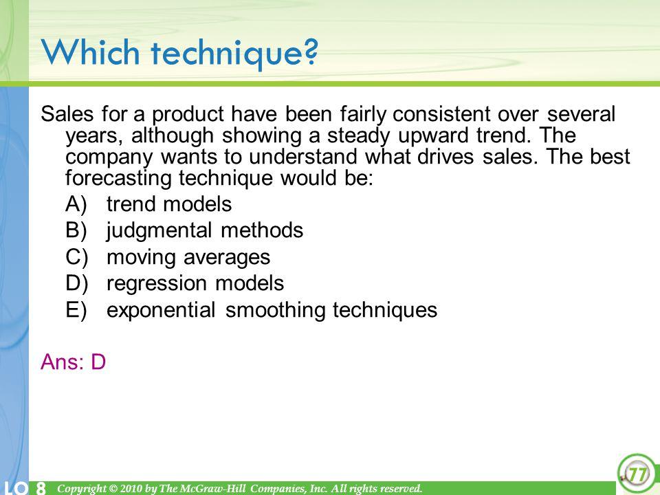 Which technique