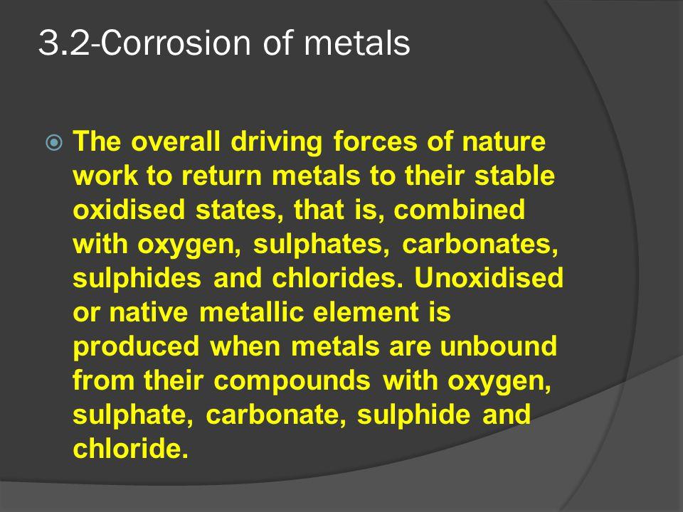 3.2-Corrosion of metals