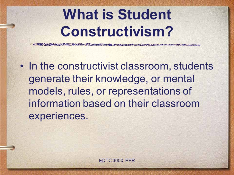 What is Student Constructivism