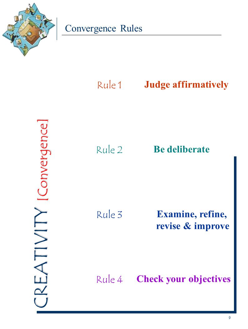 Examine, refine, revise & improve