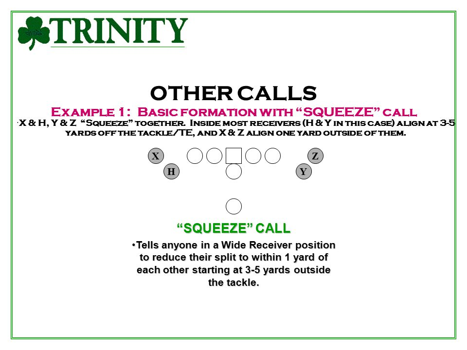 Example 1: Basic formation with SQUEEZE call