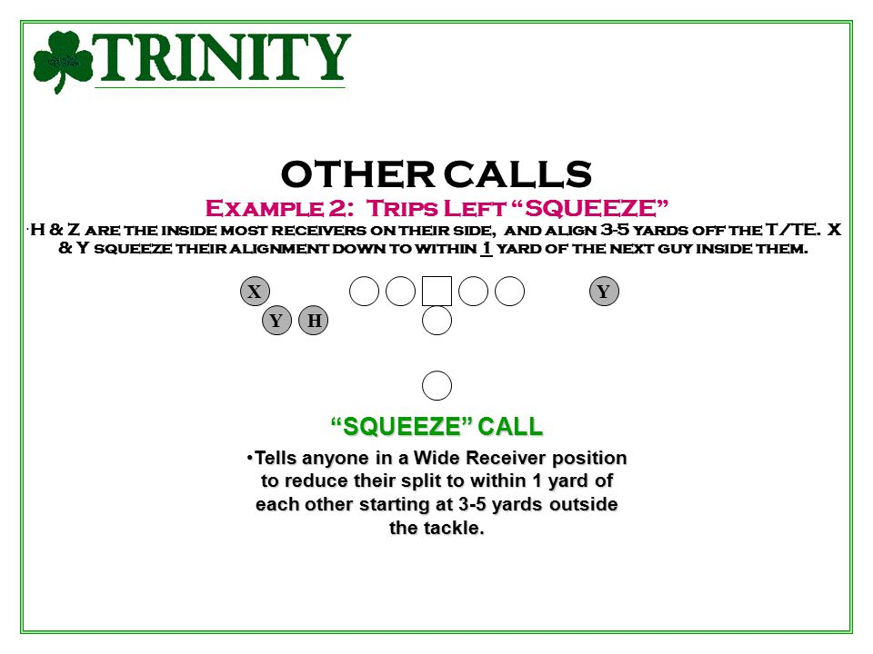 Example 2: Trips Left SQUEEZE