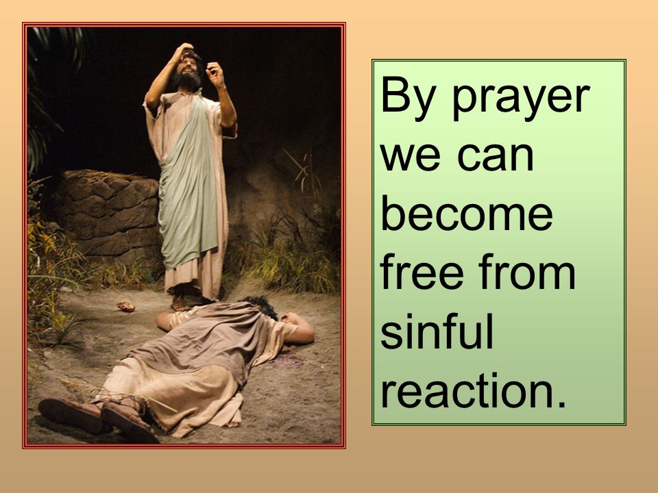 By prayer we can become free from sinful reaction.