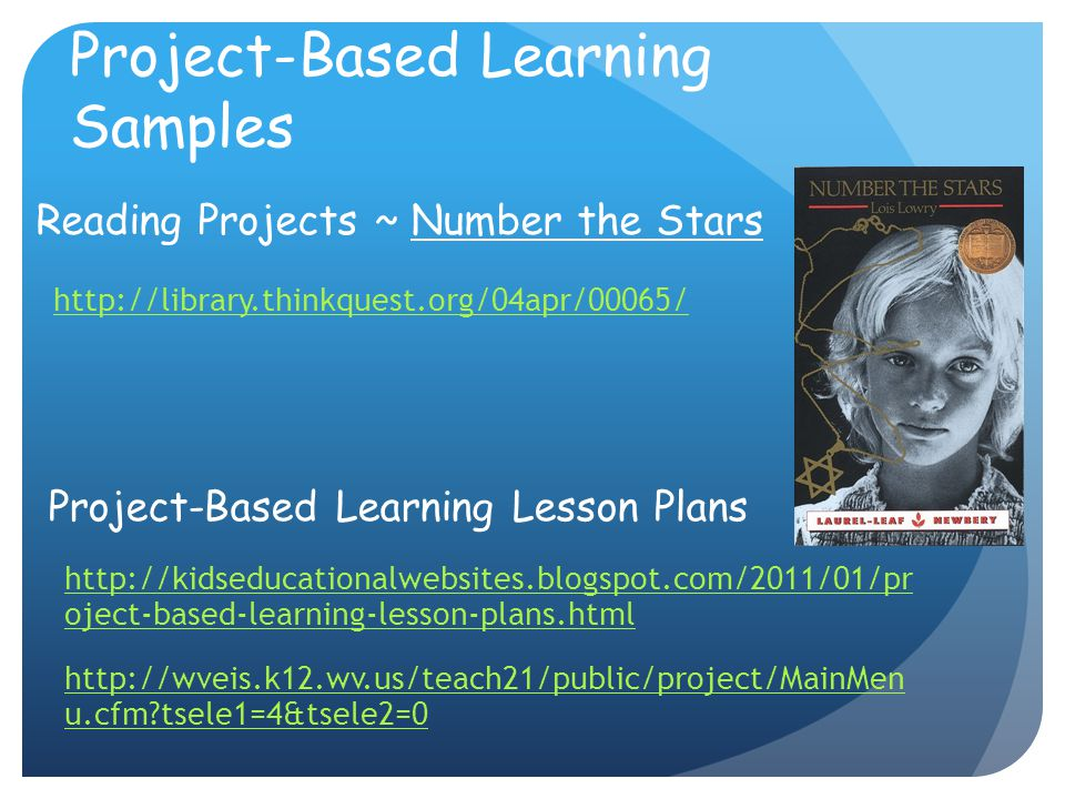 Project-Based Learning Samples