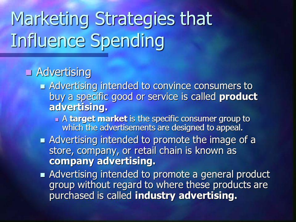 Marketing Strategies that Influence Spending