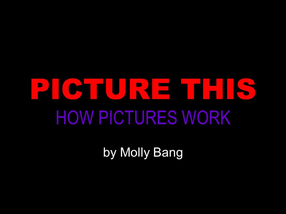 HOW PICTURES WORK by Molly Bang