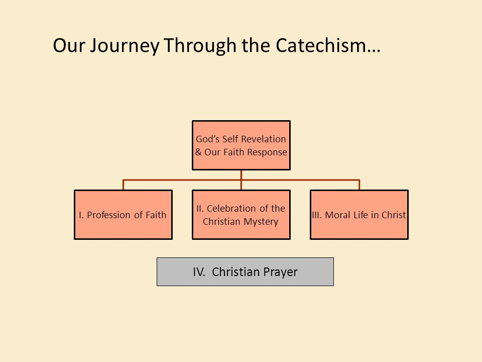 Our Journey Through the Catechism…