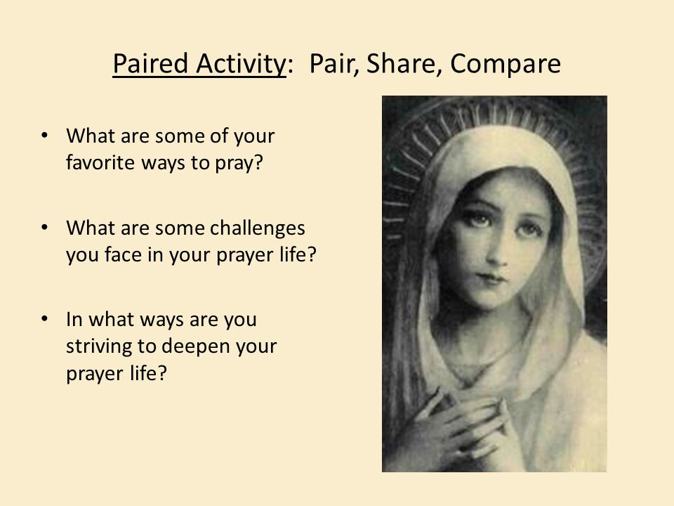 Paired Activity: Pair, Share, Compare
