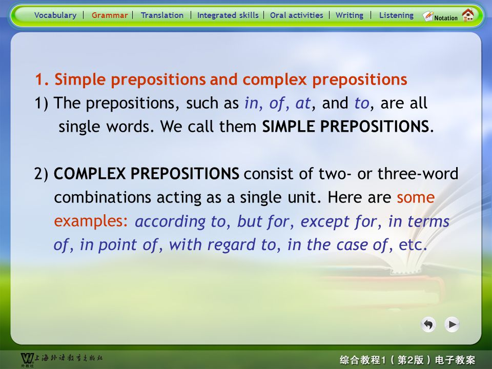 Consolidation Activities- Grammar1
