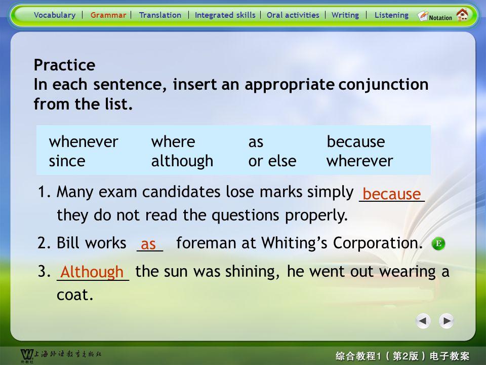 Consolidation Activities- Grammar4