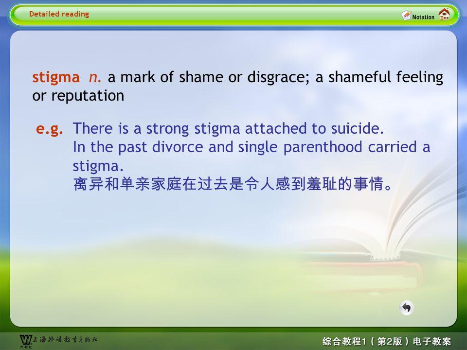 Detailed reading2-- stigma