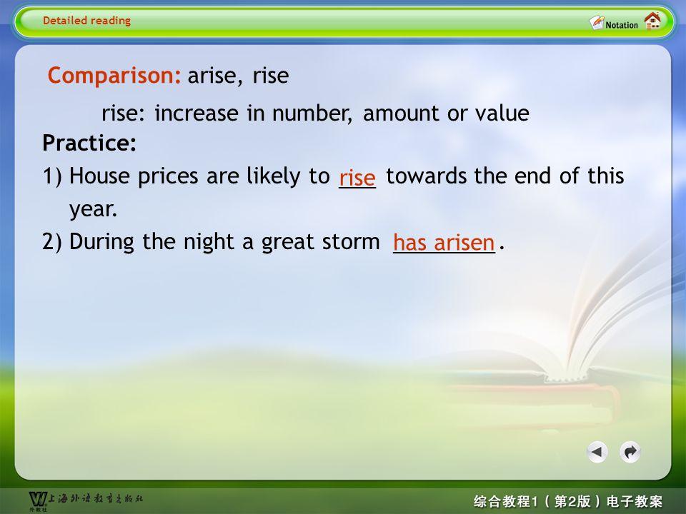 Detailed reading6- arise2