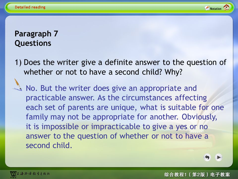 Detailed reading7--Quesion 1