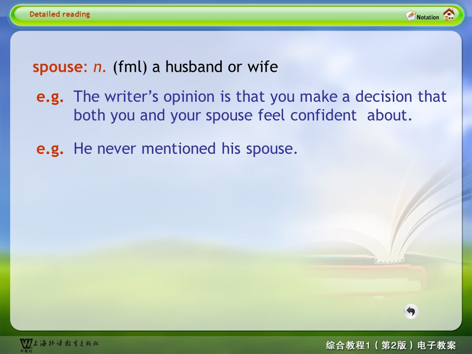 Detailed reading7-- spouse