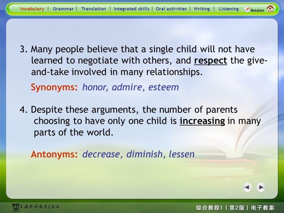 Consolidation Activities- Synonym / Antonym2