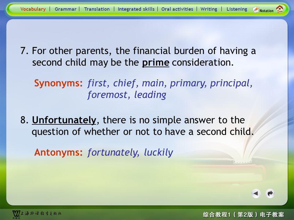 Consolidation Activities- Synonym / Antonym4