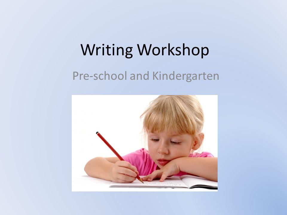 Pre-school and Kindergarten