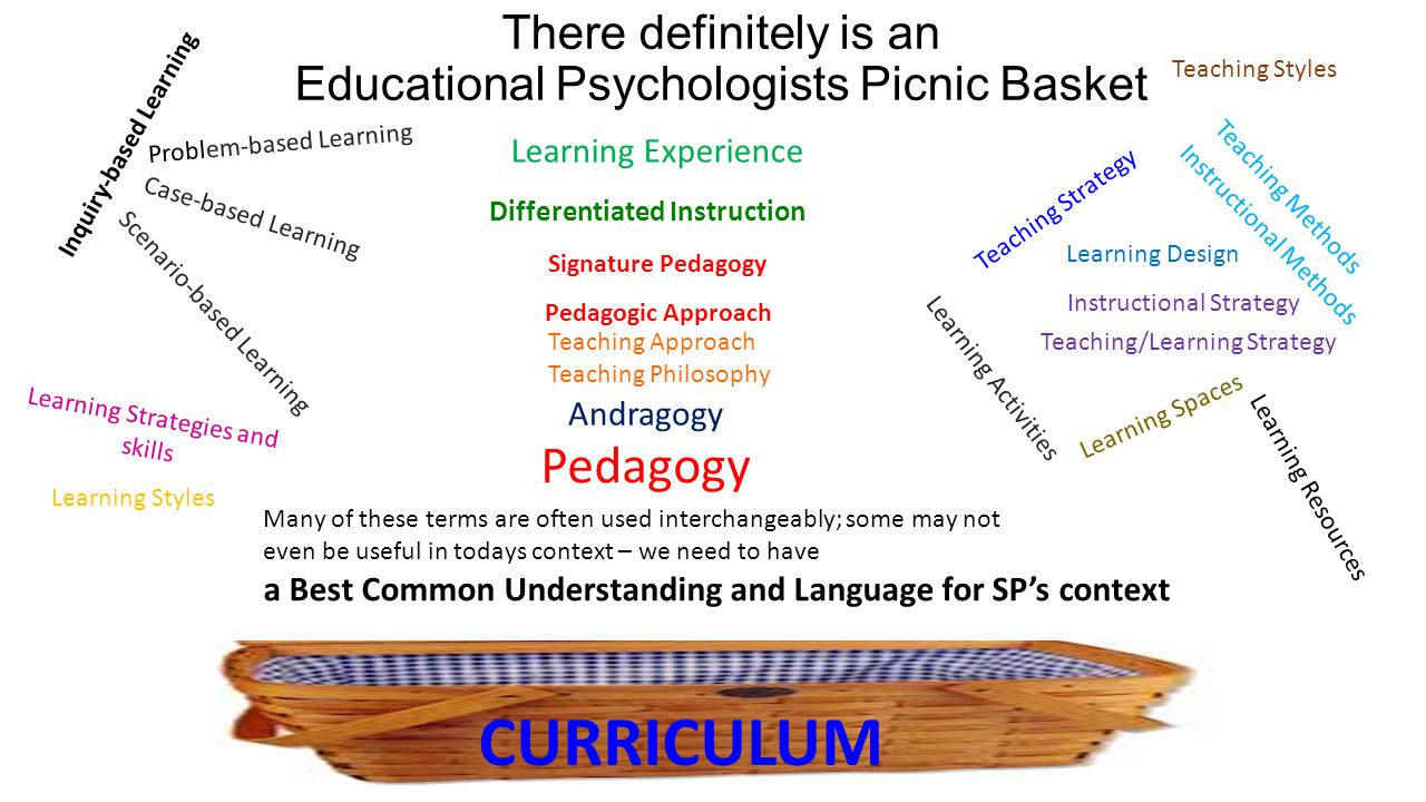 There definitely is an Educational Psychologists Picnic Basket