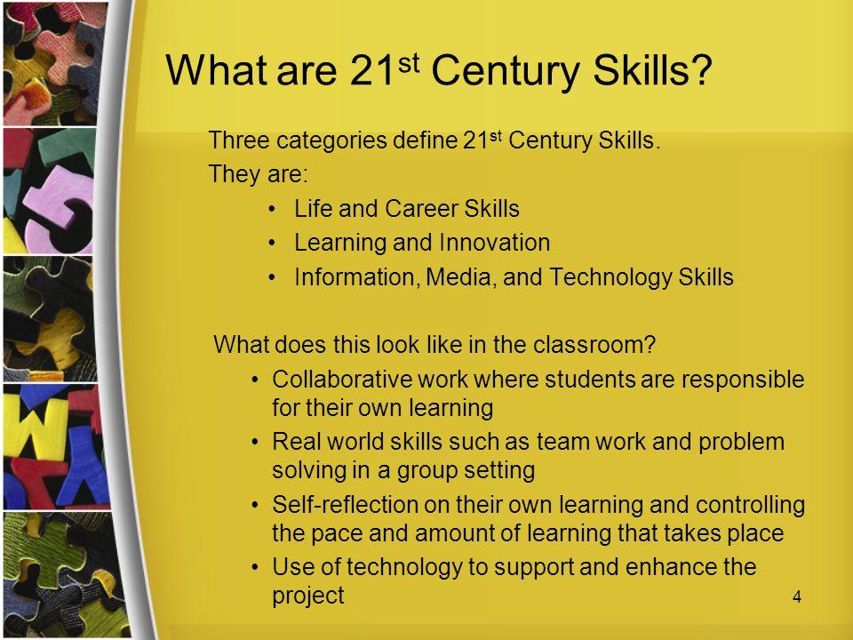 What are 21st Century Skills
