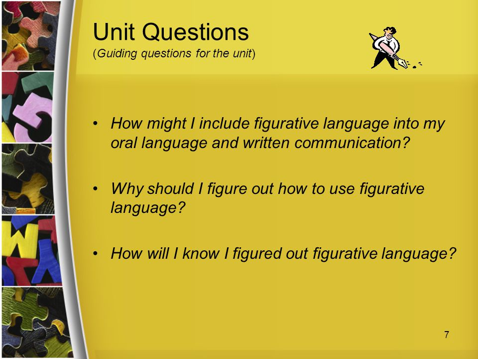 Unit Questions (Guiding questions for the unit)