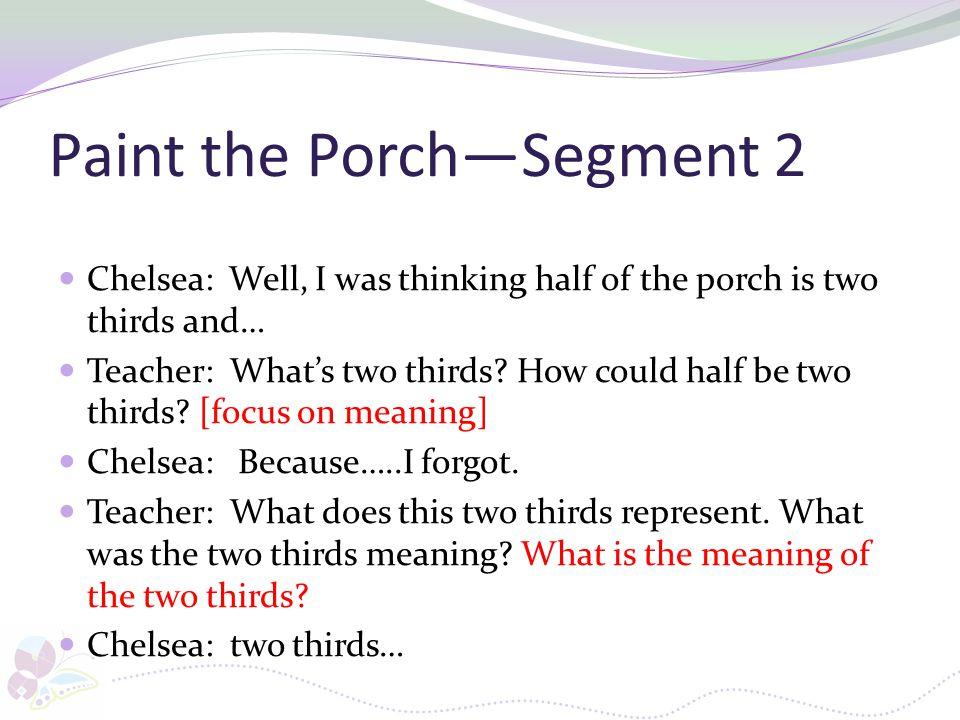Paint the Porch—Segment 2