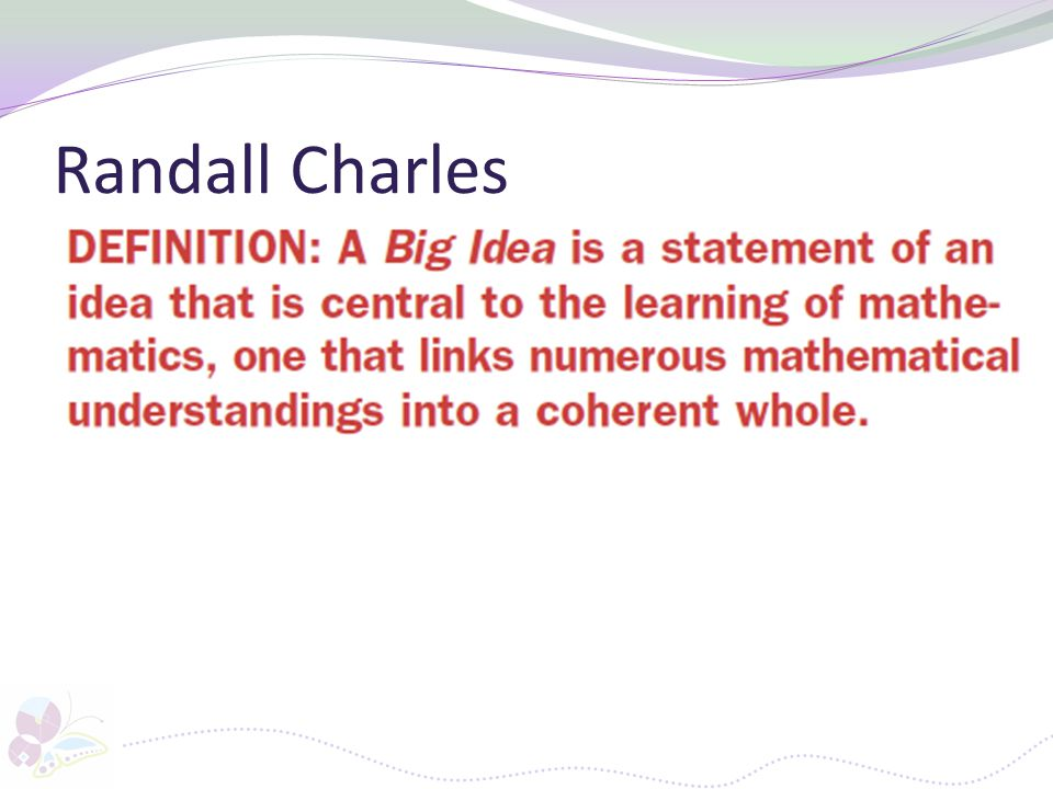 Randall Charles