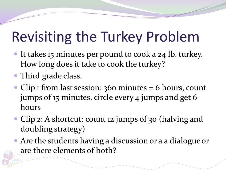 Revisiting the Turkey Problem