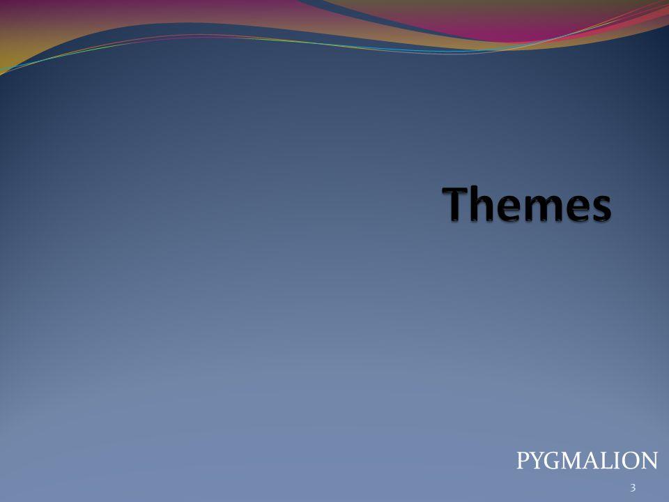 Themes PYGMALION