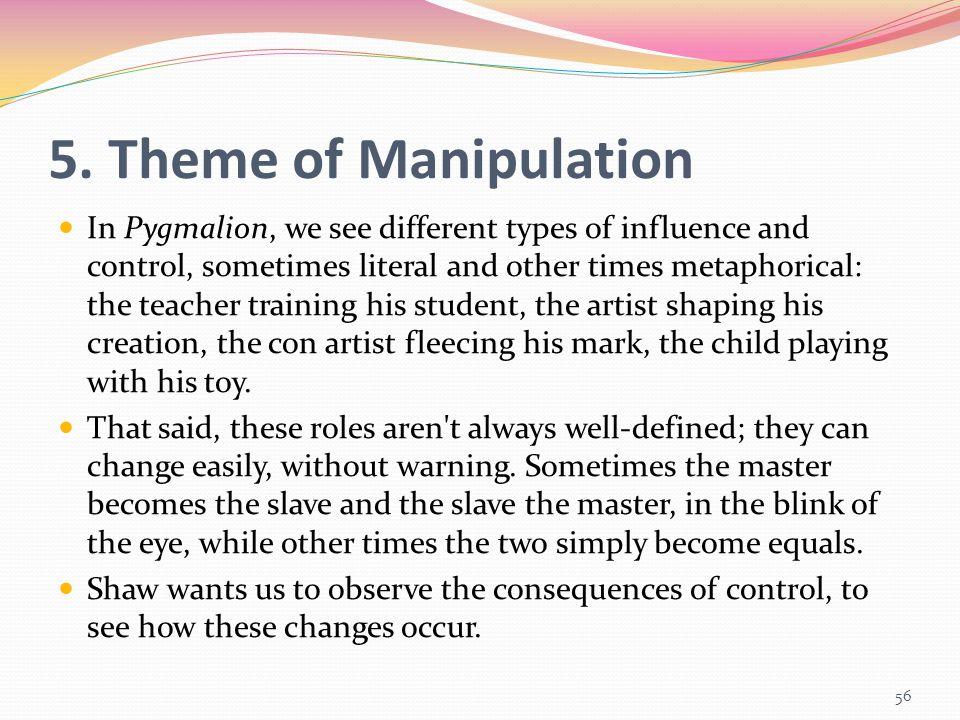 5. Theme of Manipulation