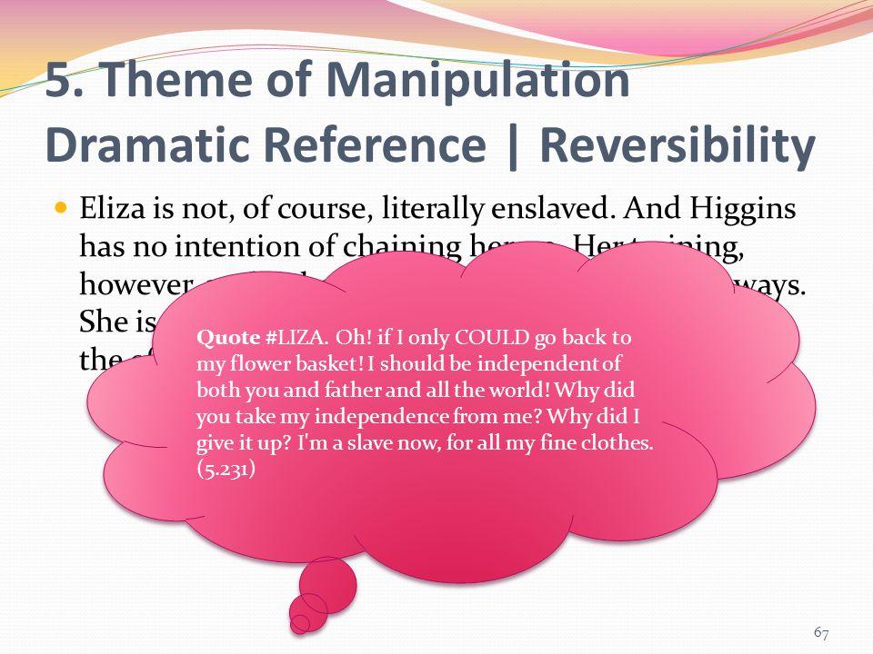 5. Theme of Manipulation Dramatic Reference | Reversibility