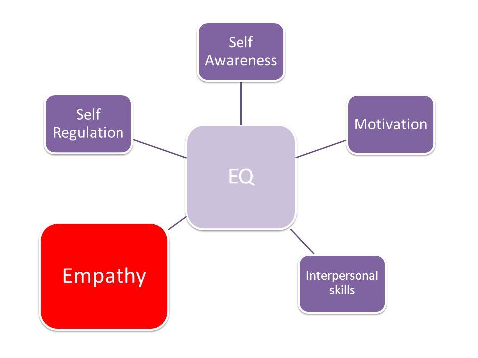 EQ Empathy Self Awareness Self Regulation Motivation