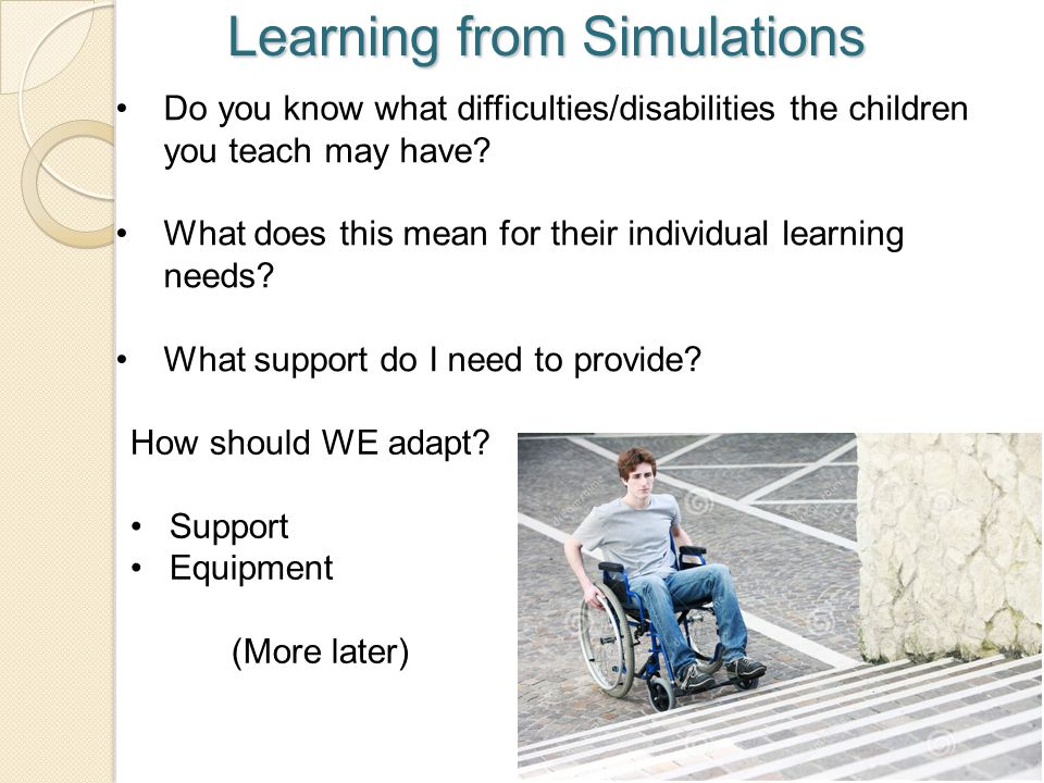 Learning from Simulations