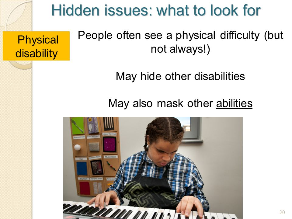 Hidden issues: what to look for