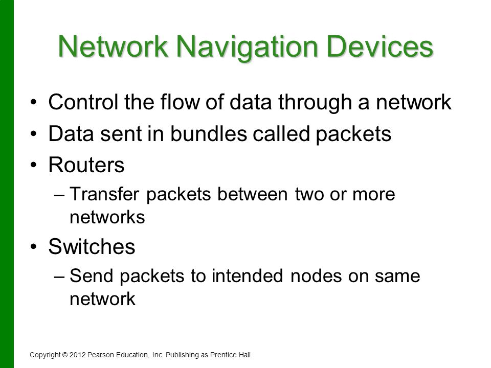 Network Navigation Devices