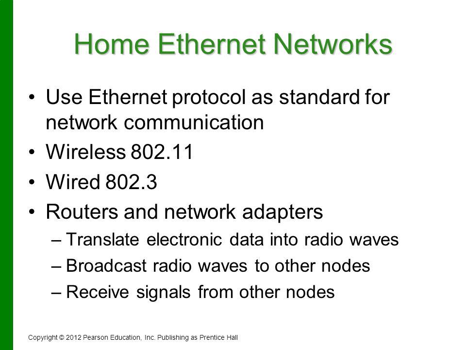 Home Ethernet Networks
