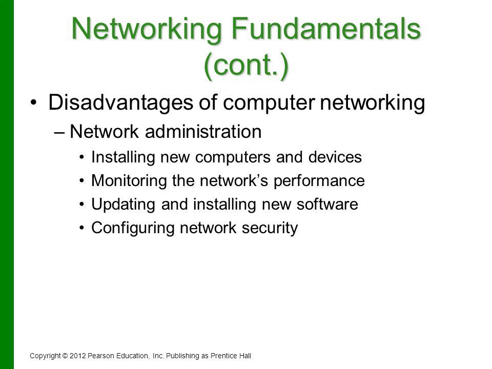 Networking Fundamentals (cont.)