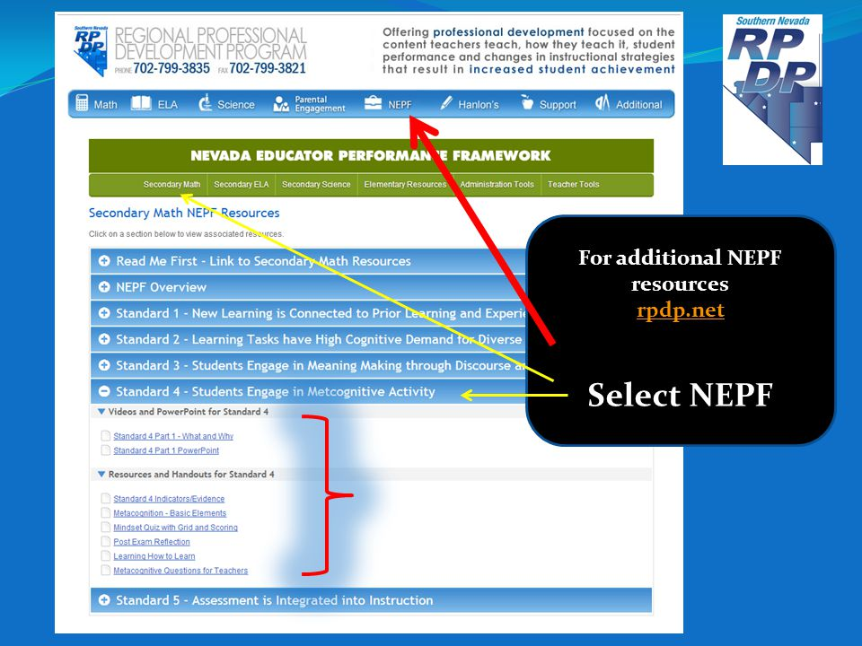 For additional NEPF resources