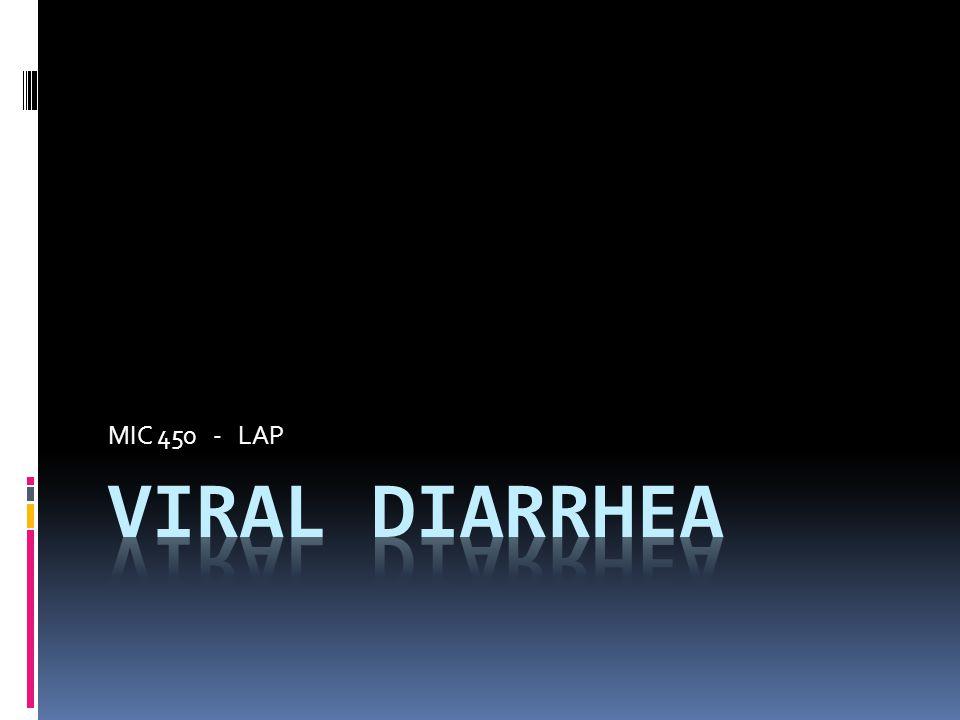 MIC 450 - LAP Viral Diarrhea