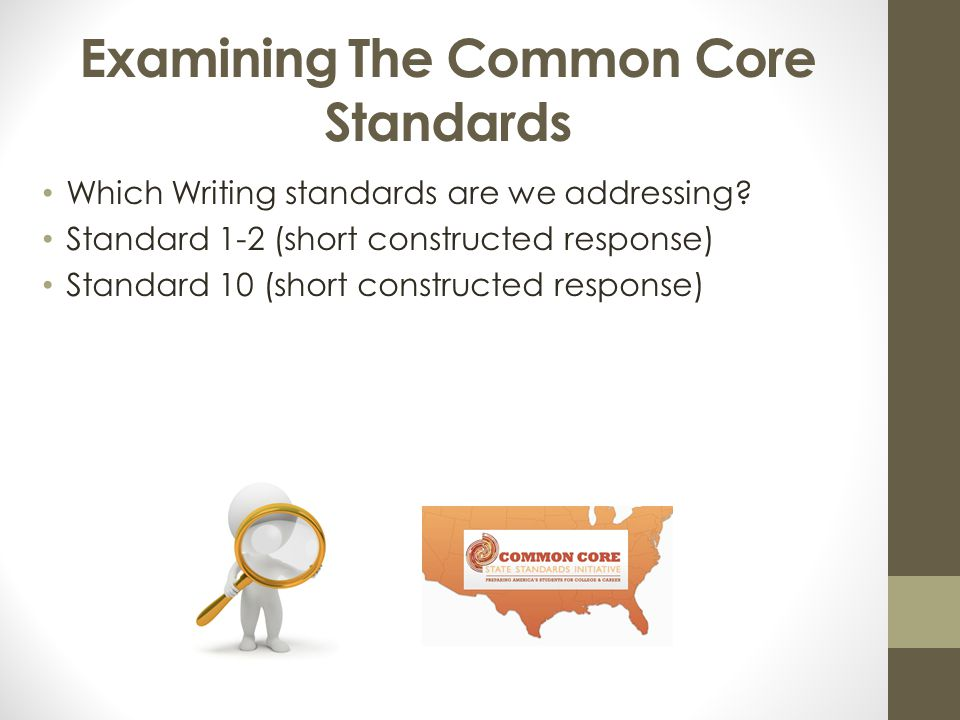 Examining The Common Core Standards