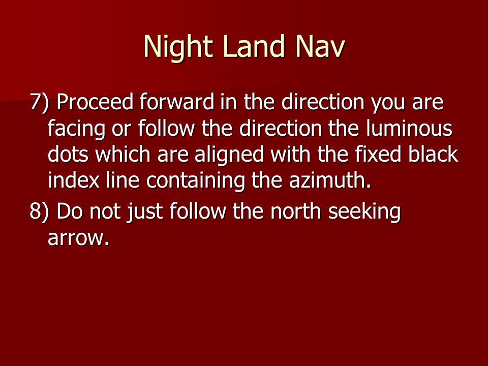 Night Land Nav