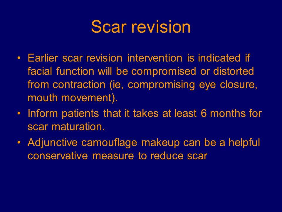 Scar revision